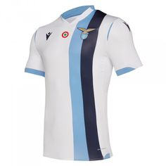 Macron Lazio T-Shirt Competition Away Match Jersey Authentic Ssl Jersey Shirt, T Shirt, Messi, Ss Lazio, Soccer Kits, Team Uniforms, Football Jerseys, Sport Outfits, Sportswear