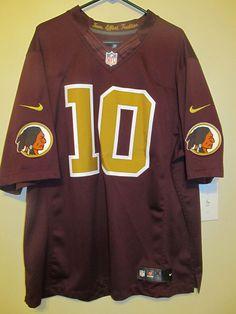 870af5642 Robert Griffin III Jersey Throwback 80th Ann. Washington Redskins by Nike  2XL