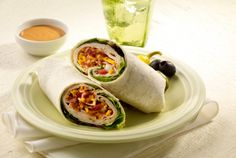 Amarillo Turkey Club Wrap | #turkey #club #wrap | http://www.jennieo.com/recipes/186-Amarillo-Turkey-Club-Wrap