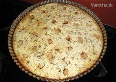 Vajnorský osúch s kyslou smotanou a slaninkou Pizza, Desserts, Food, Basket, Tailgate Desserts, Deserts, Essen, Postres, Meals