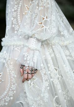 ~ Winter Fairy Dress ~ by Alexander McQueen