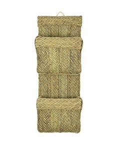 es.buyvip.com  Revistero doble fabricado artesanalmente con esparto tejido a mano en España. Listo para colgar. Tradición, artesanía y la vanguardia.