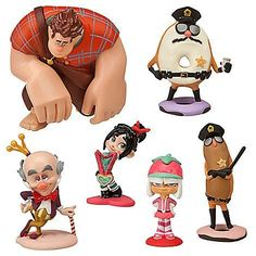Disney Wreck-it Ralph Sugar Rush Figurine Playset - 6 Figures by Disney, http://www.amazon.com/dp/B009VN8C98/ref=cm_sw_r_pi_dp_3-nxrb0Q6PF3A