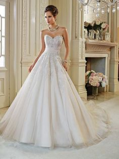 Sophia Tolli Fall 2014 Bridal Collection is an array of drop-dead gorgeous wedding dresses for every type of bride. Find the bridal gown of your dreams! Lace Wedding Dress, Wedding Dresses 2014, Gorgeous Wedding Dress, Bridal Dresses, One Shoulder Wedding Dress, Wedding Gowns, Bridesmaid Dresses, Wedding Attire, Tulle Wedding