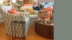 The Urban Cottage in Duck, NC sells home decor and provides interior design assistance