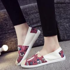 Espadrilles Moda Plus Size, Casual Shoes, Espadrilles, Toms, Slip On, Sneakers, Red, Fashion, Ladies Accessories