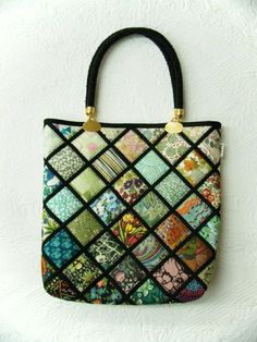 Quilting inspiration: Patchwork Mariko Japan: New bags: Mariko's new released bags: available at AQC!!