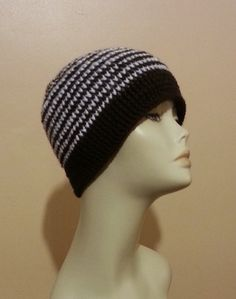RESERVED  Crocheted Beanie Hat  Crochet Skullcap by jazzicrafts