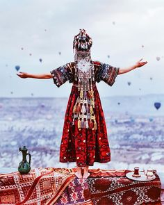 Kristina Makeeva, who has more than 200 followers in the social media, has photographed the unique beauty of Cappadocia. (Turkey)