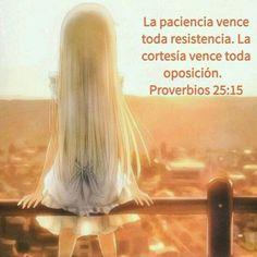 No es virtud humana es un don de Dios.
