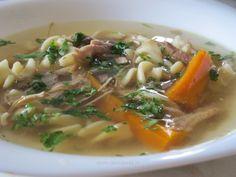 Supa de pui la slow cooker Slow Cooker Recipes, Ramen, Crockpot, Supe, Serendipity, Ethnic Recipes, Food, Slow Cooker, Essen