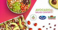 Guacamole Salad, Avocado Tomato Salad, Avocado Salad Recipes, Easy Salad Recipes, Salads Up, Easy Salads, Avocados From Mexico, Homemade Honey Mustard, Wild Rice Salad