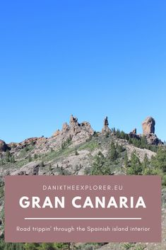 Thinking of visiting the island of Gran Canaria in Spain. Do a road trip around the centre & check out the amazing natural scenery the island has to offer. Spain Travel Guide, Europe Travel Tips, Travel Guides, Travel Destinations, Alaska Travel, Travel Goals, Travel Advice, Malta, Monaco
