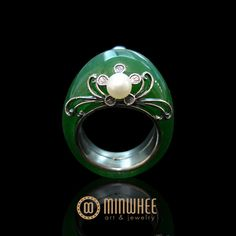 Pumdal to idle * jade ring - high quality handicraft jewelery minhwi Art Jewelry MINWHEE ART JEWELRY