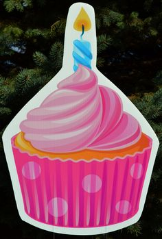 This pink cupcake yard sign is perfect for the little princess in your life's birthday! Birthday Yard Signs, Boy Birthday, Lawn Sign, Pink Cupcakes, Host A Party, Make Your Mark, Little Princess, Special Day, Boy Or Girl
