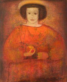 Aranyshev Andrey  Girl with an Apple