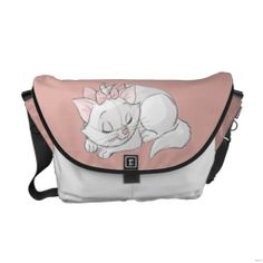 Shop Marie Sleeping Messenger Bag created by OtherDisneyBrands. Duchess Aristocats, Marie Aristocats, Disney Cats, Utila, Beautiful Bags, Purses And Bags, Coin Purses, Purse Wallet, Travel Bag