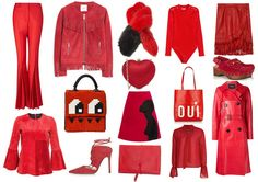 Falling in love with red for fall winter?
