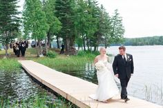 Beautiful Summer Wedding on the island at Calabogie Peaks Resort Summer Wedding, Wedding Day, Wedding Themes, Wedding Dresses, Rustic Charm, The Chic, Sun Lounger, Special Occasion, How To Memorize Things