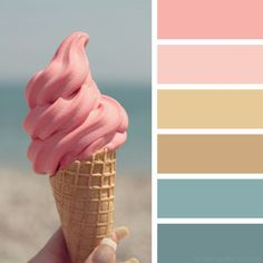 the color palettes