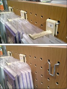 Hybrid Straight-Entry Hook for Pegboard