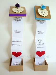 of wedding checklist ONE - Pop Up message in a box - Will you be my bridesmaid, bridesmaid invitation, maid of honor, prom with me Asking Bridesmaids, Will You Be My Bridesmaid, Wedding Bridesmaids, Funny Bridesmaids, Bridesmaid Ideas, Will You Be My Maid Of Honor, Will You Be My Girlfriend, Girlfriend Gift, Bridesmaid Proposal