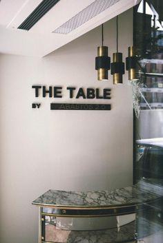 The Table by. El primer restaurante pop-up 'mutante' de Madrid.