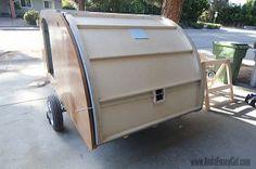 04 teardrop trailer hatch filling