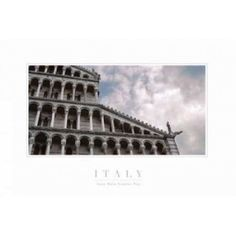 Pisa Cathedral II Canvas Art - John Warren (12 x 18)