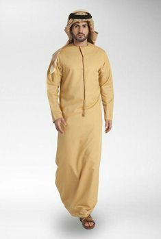 orange full pathani Arab Men Fashion, Islamic Fashion, African Men Fashion, Muslim Fashion, Mens Fashion, Mens Shalwar Kameez, Kurta Men, Jubbah Men, Arab Men Dress