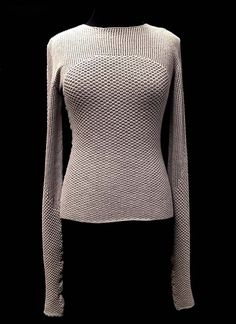 Designer: Kate Whately: knitGrandeur: FIT & Baruffa 2/30s Cashwool Collaboration 2016: Term Garment Project