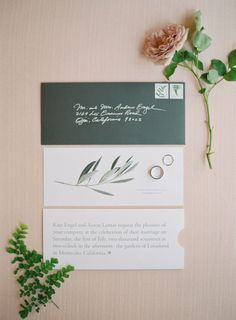 Elegant wedding invitation | Photography: Kurt Boomer - http://www.kurtboomer.com/