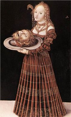 Salome with the Head of St. John the Baptist - Lucas Cranach the Elder