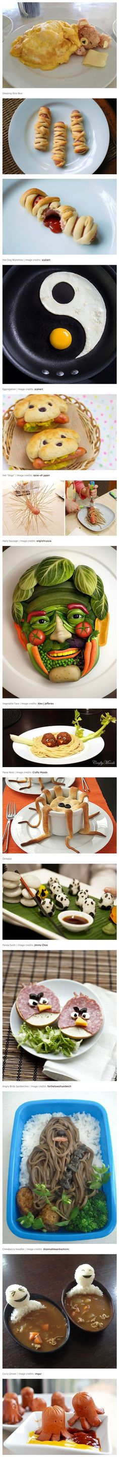 Cool and Creative Food Art Ideas