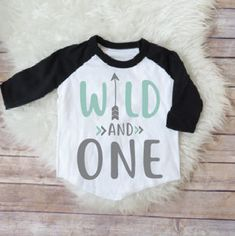 PLEASE DO NOT WASH FOR 14 DAYS AS INK IS FRESH! Wild and one, first birthday party, one years old, first birthday shirt, wild shirt, baby boy birthday, baby girl birthday, GRAY Welcome to JADEandPAIIGE! Below is a list of sizing and washing instructions for our products!Please remember