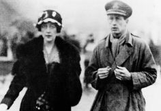 Agatha Christie with her first husband Colonel Archibald Christie in 1999. Agatha despised photographers, refused interviews and preserved her privacy with a zeal