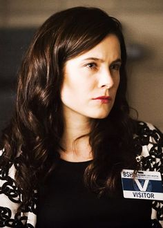 Caroline Dhavernas as Alana Bloom in Nbc's Hannibal