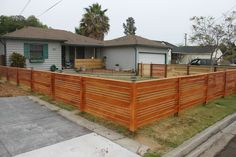 Get tips on designing attractive privacy fencing. Plus learn the right height for a privacy fence., Front yard fence, Fences and House fence design, Fences, Backyard fences and Fencing. Modern Front Yard, Front Yard Fence, Diy Fence, Modern Fence, Pool Fence, Backyard Fences, Fenced In Yard, Front Yard Landscaping, Fence Ideas
