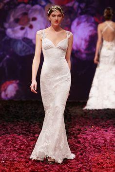Papillon - Wedding Dress by Claire Pettibone
