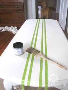 grain sack striping on furniture quick and easy, how to, painted furniture makeover Fabric Patio Furniture Makeover, Furniture Projects, Diy Furniture, Urban Furniture, Furniture Layout, Furniture Stores, Bedroom Furniture, Repurposed Furniture, Painted Furniture