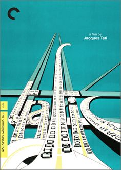 Trafic, directed by Jacques Tati. 1971. Spine # 439.