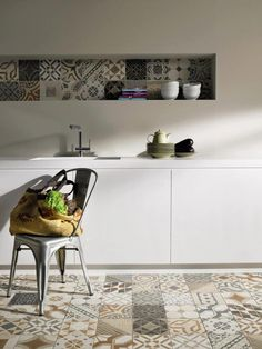 #kitchen #white #ceramika