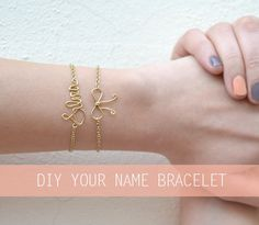 DIY – your name bracelet