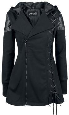 Coats For Women, Jackets For Women, Clothes For Women, Cheap Clothes, Gothic Mode, Mode Mantel, Estilo Rock, Gothic Outfits, Fashion Moda