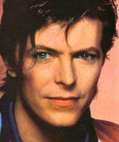 My androgynous heterochromatic lover: David Bowie.