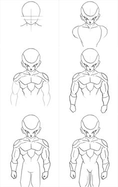 How to draw Frieza form 3 - Visit now for 3D Dragon Ball Z compression shirts now on sale! #dragonball #dbz #dragonballsuper