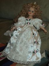 New listing Vintage porcelain doll Victorian style lot5