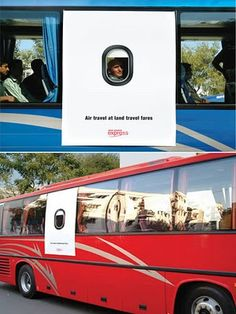 Air travel at land travel fares clever Air India adv by MudraDDB Air India, Air Travel, Advertising, Inspiration, Clever, Inspire, Graphics, Design, Ideas