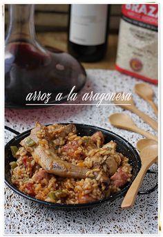 Arroz a la aragonesa {by Paula, Con las Zarpas en la Masa}