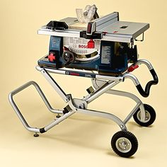 This is what I want for Christmas! Portable table saws with 10-inch blades have the power to rip plywood and the finesse to cut miters and dadoes. Here, we rate five of the latest models, ranging from high-end pro to bargain DIY. | Photo: Wendell T. Webber | thisoldhouse.com